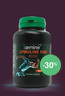 oemine Spiruline 1000 BOOST 150 comprimés