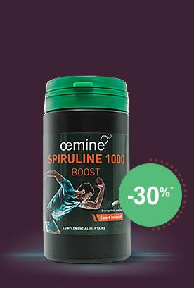 oemine Spiruline 1000 BOOST 60 comprimés