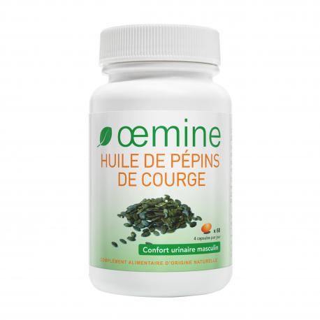 HUILE DE PEPINS DE COURGE - 60 Capsules