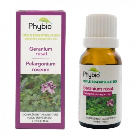 Geranium essential oil Phybio - Fl. 5ml
