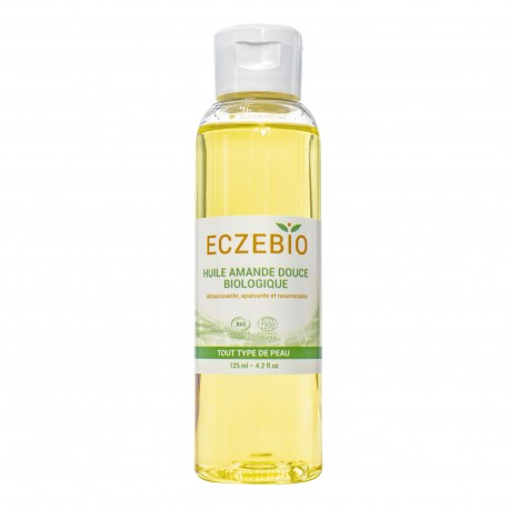 ECZEBIO HUILE AMANDE DOUCE BIOLOGIQUE - 125 ML