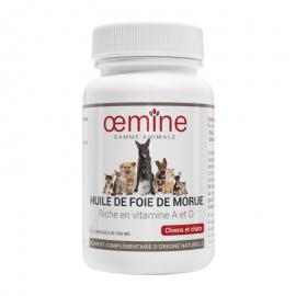 GAMME ANIMALE HUILE DE FOIE DE MORUE - 30 CAPS