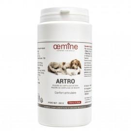 GAMME ANIMALE ARTRO POUDRE DE CARTILAGE DE RAIE ET DE REQUIN - 200 Gr