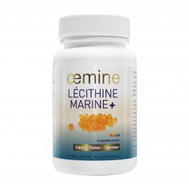 OEMINE LECITHINE MARINE + 60 Capsules