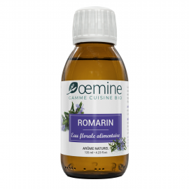 ROMARIN HYDROLAT ALIMENTAIRE BIOLOGIQUE - 125 ML