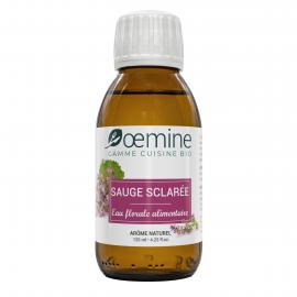 SAUGE SCLAREE HYDROLAT ALIMENTAIRE BIOLOGIQUE -125 ML