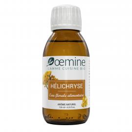 EAU FLORALE ALIMENTAIRE D'HELICHRYSE BIOLOGIQUE - 125 ML