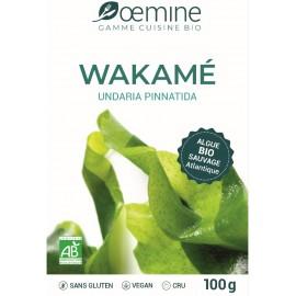 WAKAME ALGUE ALIMENTAIRE BIOLOGIQUE - 100 Gr