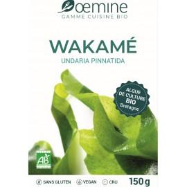 WAKAME ALGUE ALIMENTAIRE BIOLOGIQUE - 150 Gr