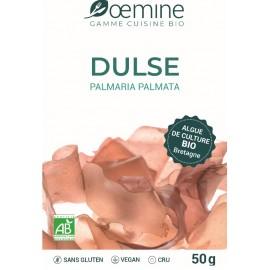 DULSE ALGUE ALIMENTAIRE BIOLOGIQUE - 50 Gr