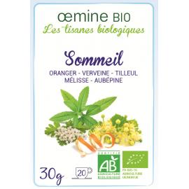 TISANE BIOLOGIQUE SOMMEIL - 25 g