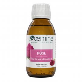 EAU DE ROSE ALIMENTAIRE BIOLOGIQUE - 125 ML