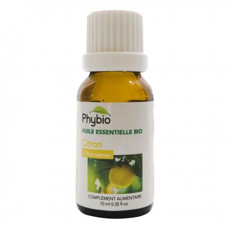 Citron Huile essentielle PHYBIO - Fl 10ml