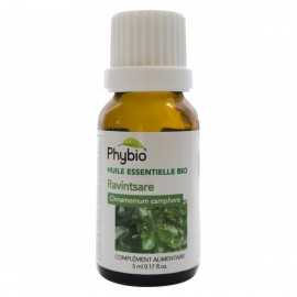 Camphor essential oil Phybio - Fl. 5ml