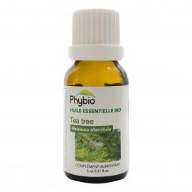 Melaleuque (Tea Tree) huile essentielle PHYBIO - Fl. 5 ml