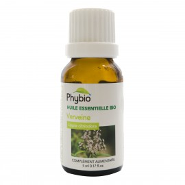 Verveine citronnée huile essentielle PHYBIO HE 5ml