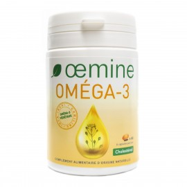 Promotion OEMINE OMEGA 3 végétaux - 60 Capsules