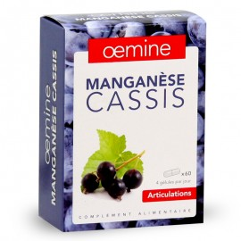 OEMINE MANGANESE CASSIS 60 Gélules