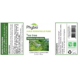 PHYBIO HE Melaleuque (Tea Tree) - Fl. 10ml