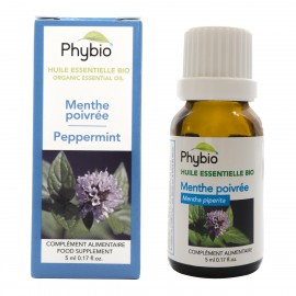 Peppermint essential oil Phybio - Fl. 5ml