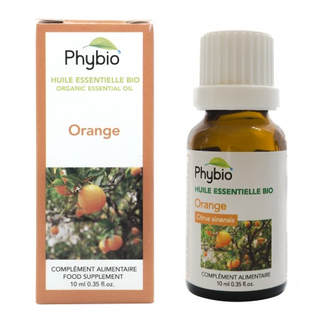 Sweet orange essential oil Phybio - Fl. 10 ml