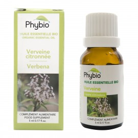 Lemon verbena essential oil Phybio - Fl. 5ml
