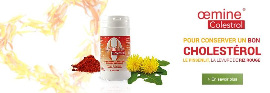 Oemine Colestrol - Pour conserver un bon cholestérol : Le pissenlit, la levure de riz rouge