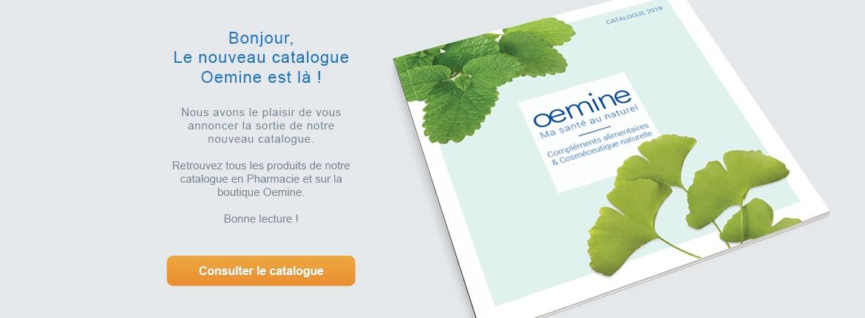 Le nouveau catalogue Oemine
